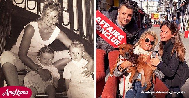 Caroline Margeridon a voulu donner son nom de famille à ses enfants