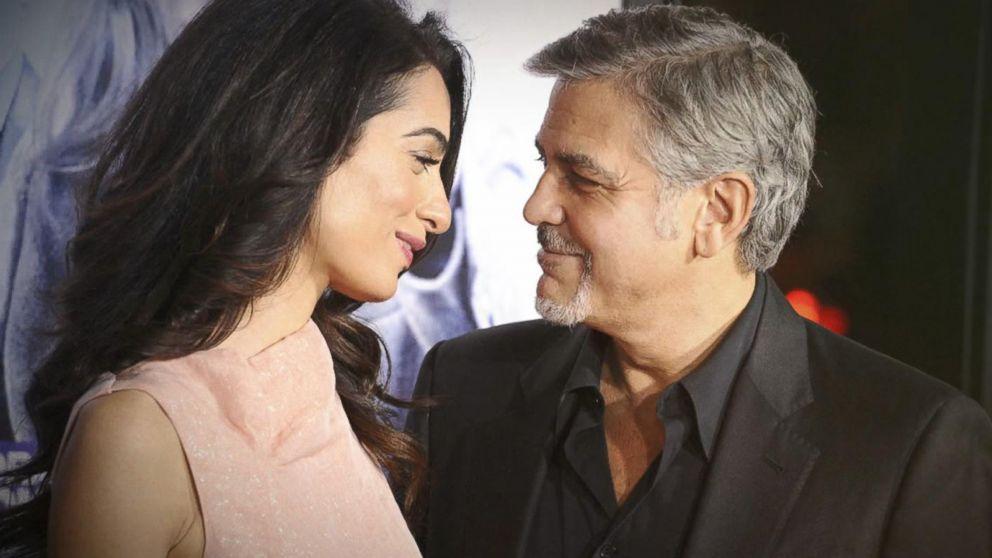 George Clooney et sa femme Amal