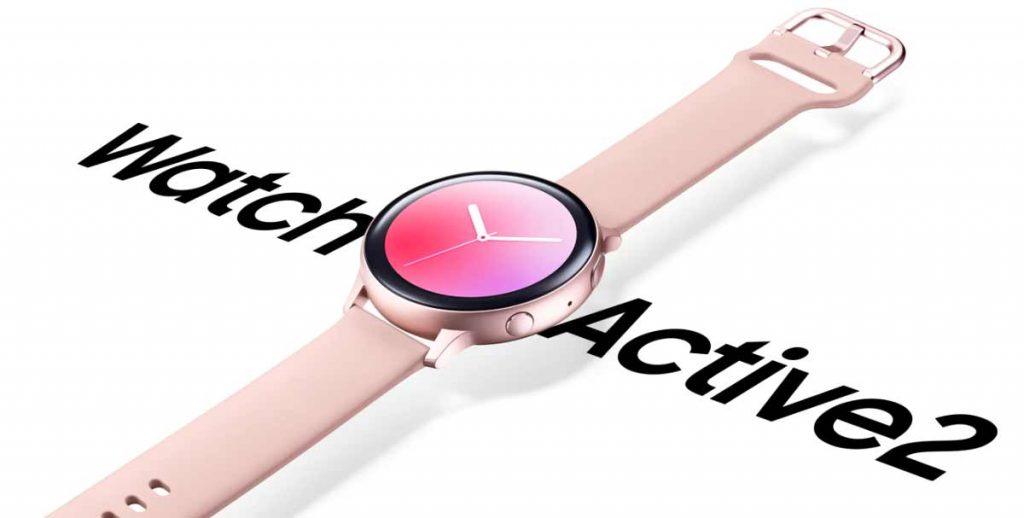 Samsung Galaxy Watch Active 2 : Une réduction de 28% !