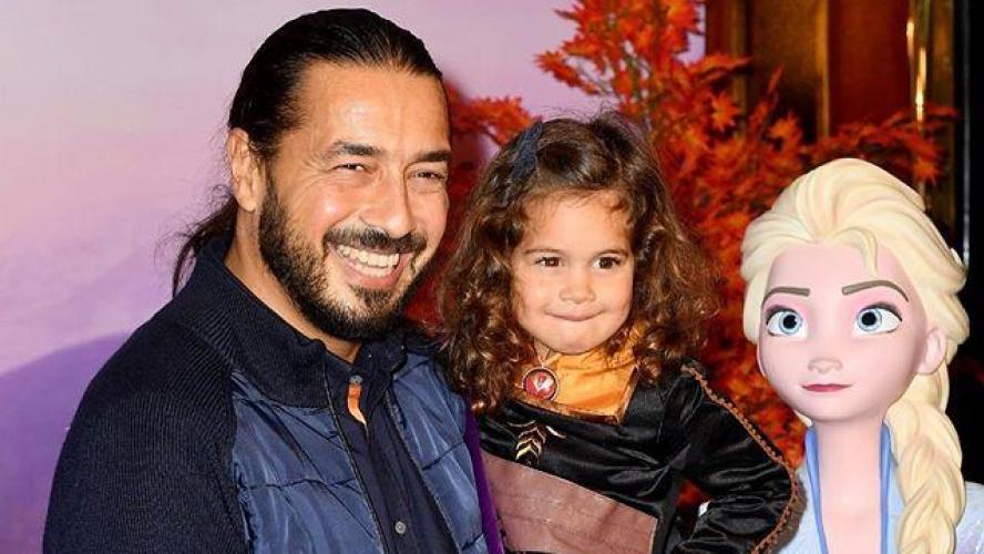 Moundir et sa fille Aliya