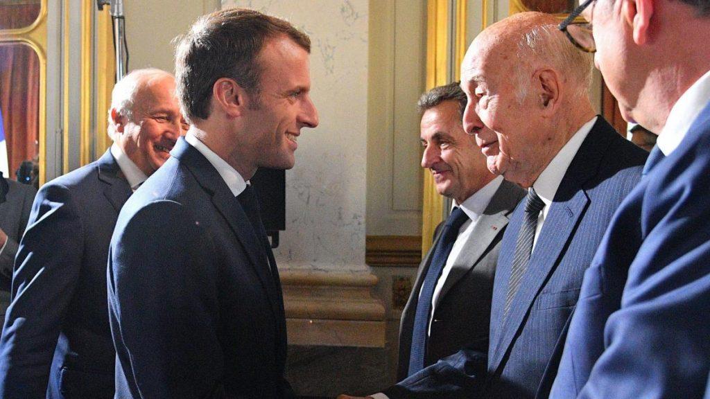 """Décès, de Valery Giscard D""""estaing."""
