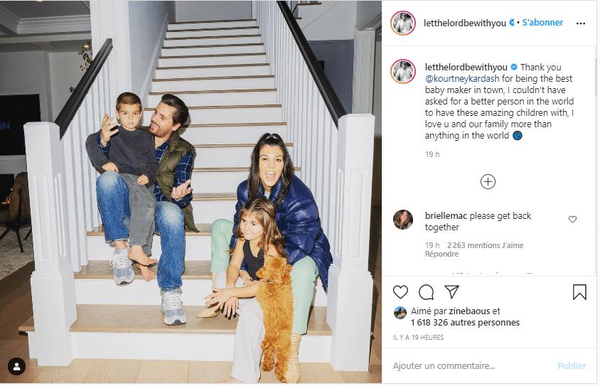 Scott Disick: Le semblant d'une famille normale