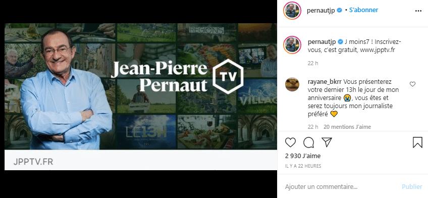 Jean-Pierre: Un projet qui lui tient à cœur