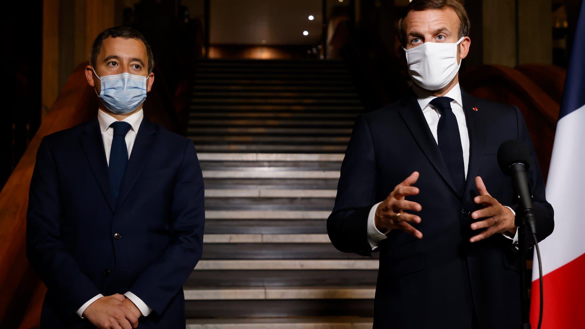 Gérald Dramanin et Emanuel Macron le torchon brule