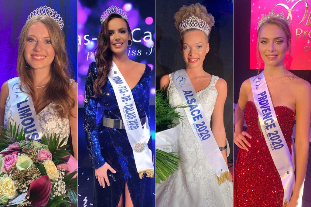 Candidates Miss France 2021