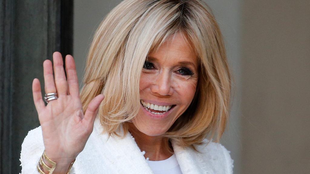 Brigitte Macron n'est pas à l'aise avec le direct