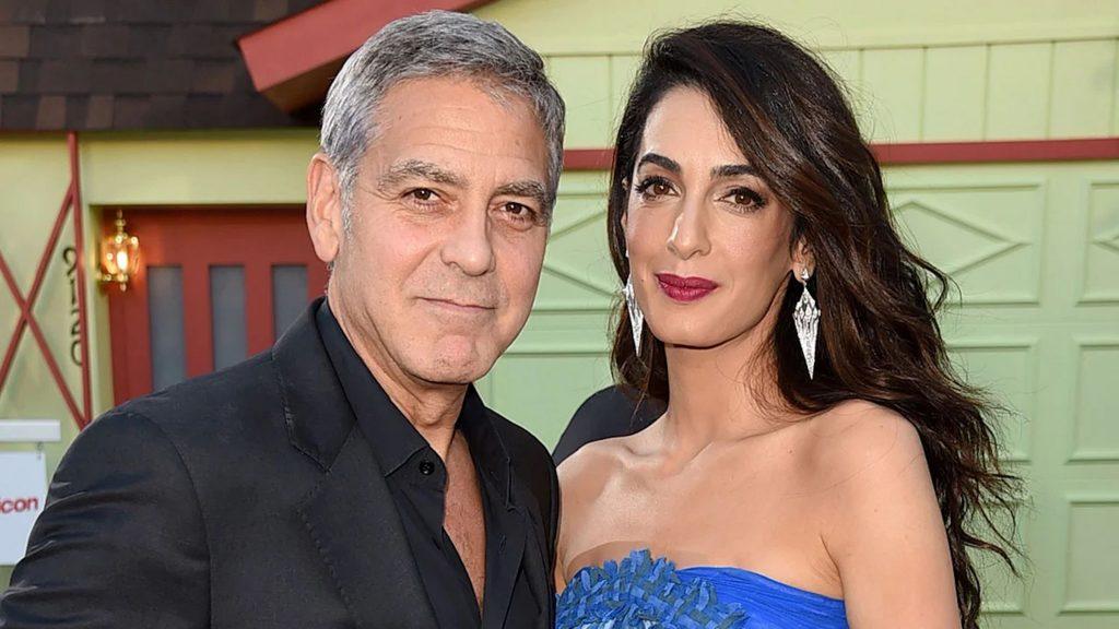 Amal Clooney et son chéri