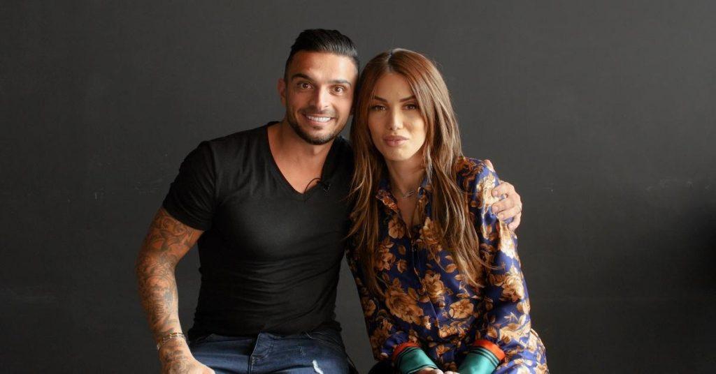 Julien Tanti et Manon Marsault