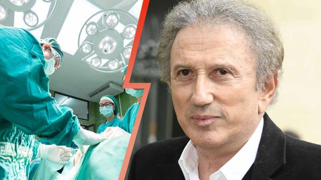 L'animateur de France 2 hospitalisé
