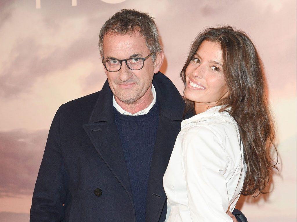 Christophe Dechavanne et Elena Foïs