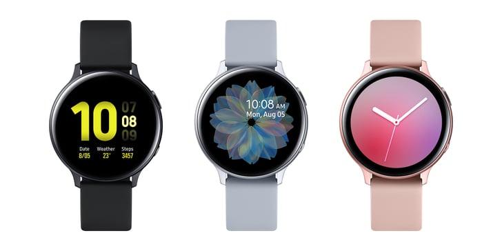 La Galaxy Watch Active 2
