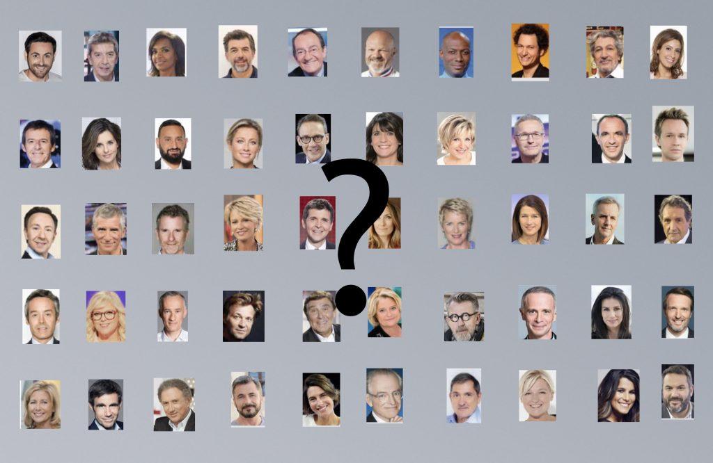 Le classement des personnalités télé Françaises !