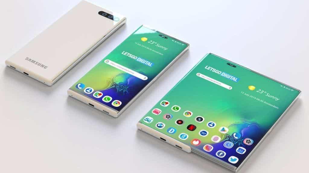 Les nouveaux smartphones enroulables et coulissants de Samsung