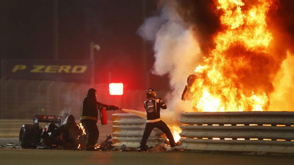Romain Grosjean: Un cauchemar de 28 secondes !