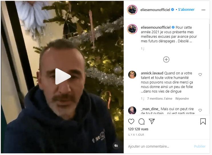 Elie Semoun : Une vidéo pour les followers !