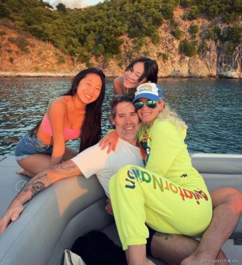 Laeticia Hallyday et Jalil Lespert : Un week-end en amoureux !