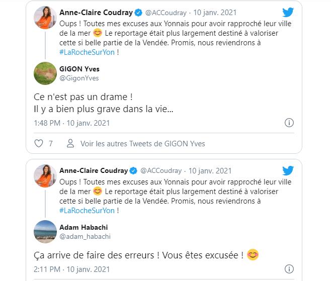 La toile réagit à l'erreur dans le journal de TF1