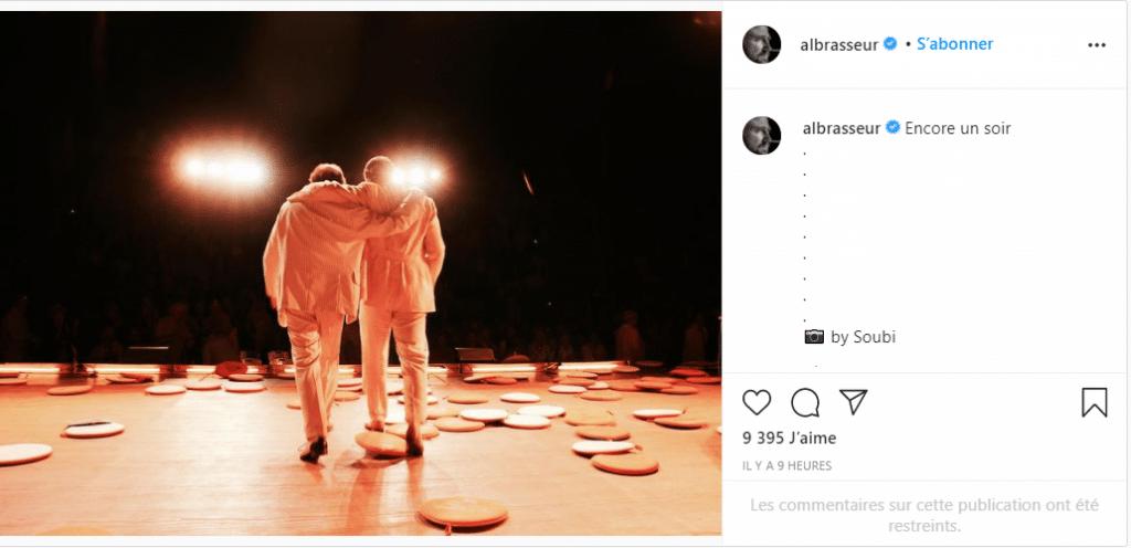 Une magnifique photo sur Instagram !