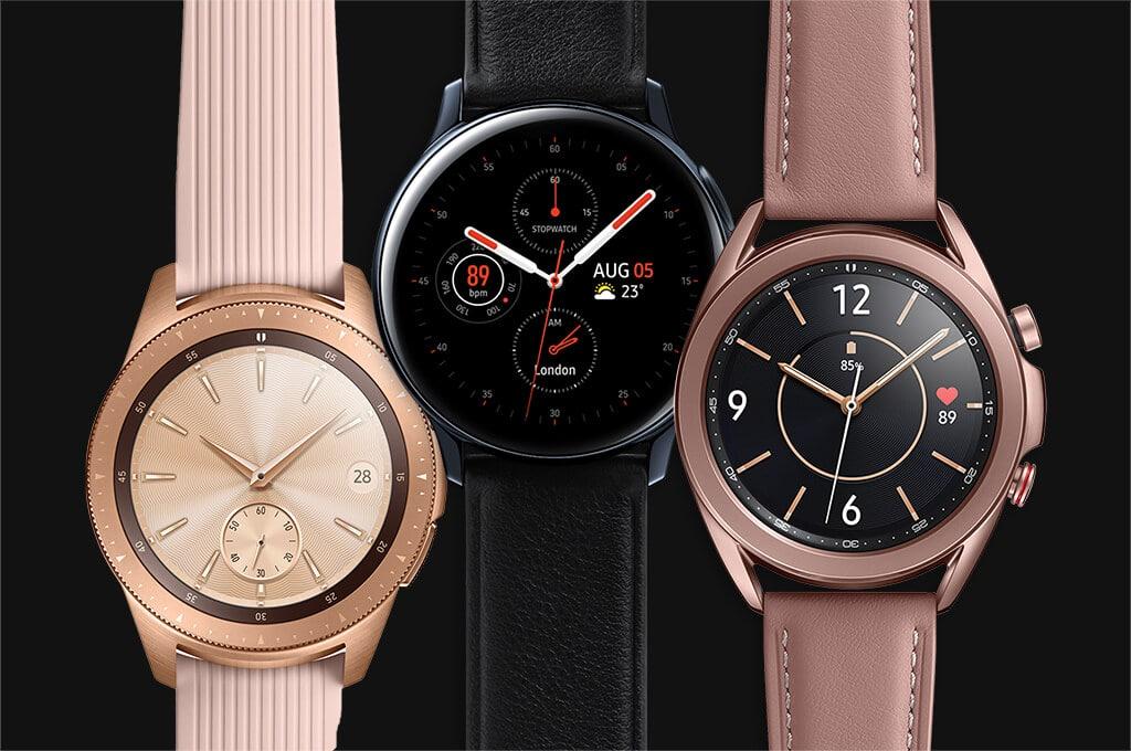 La montre connectée de Samsung !