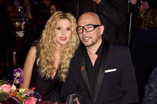 Pascal Obispo et sa femme Julie Hantson