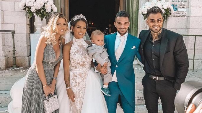 Le couple Garcia au mariage des Tanti