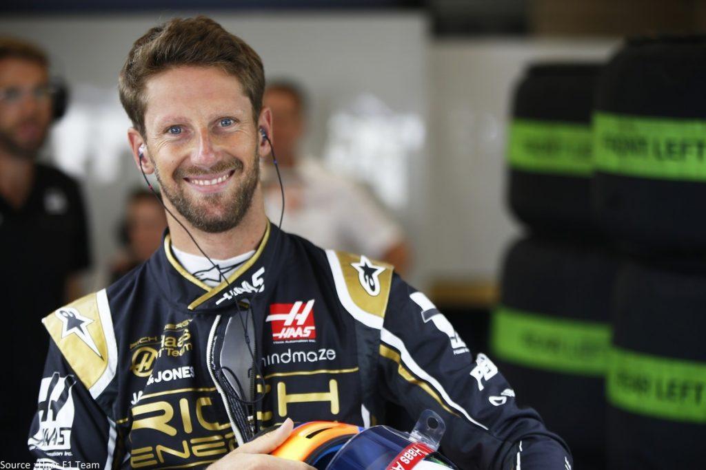 Romain Grosjean diffuse une photographie de sa main sans pansement