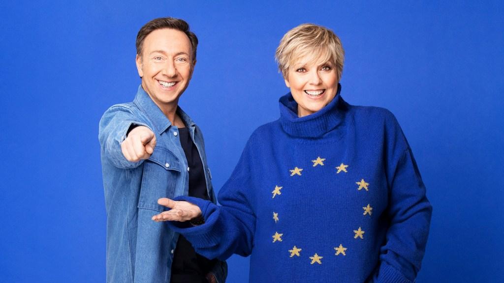 Le duo d'animateurs d'Eurovision France