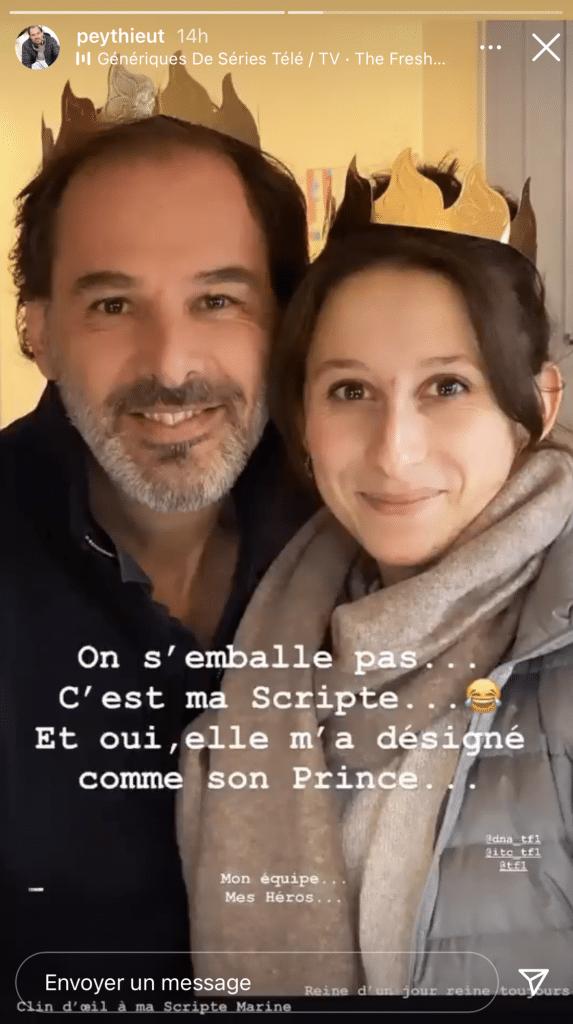 Une réponse inattendu pour Thierry Peythieu