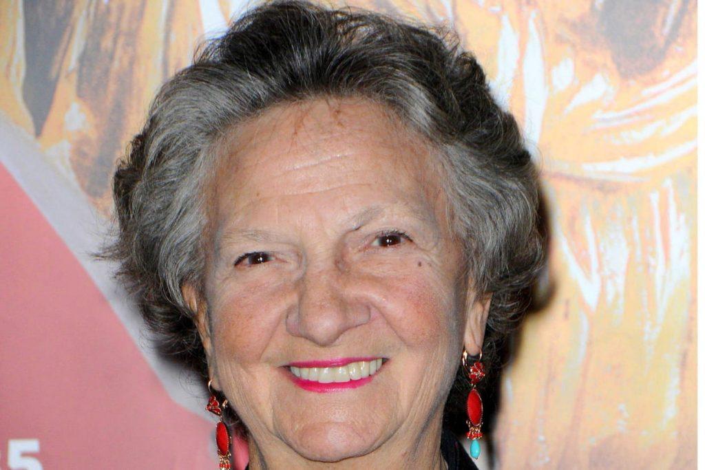 Marthe Villalonga est toujours présente
