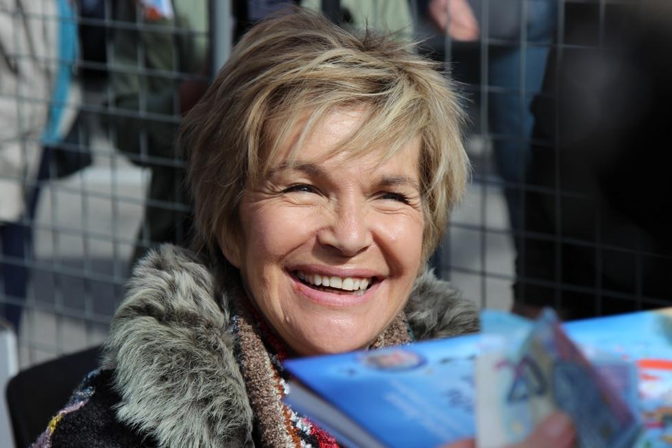 Véronique Jannot : maman comblée