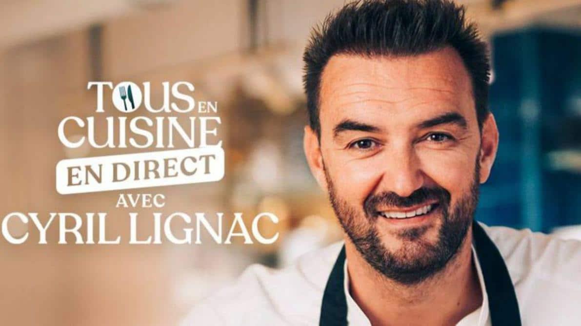 """Cyril Lignac. """"Tous en cuisine"""": Cette animatrice qui a été refusée par M6"""
