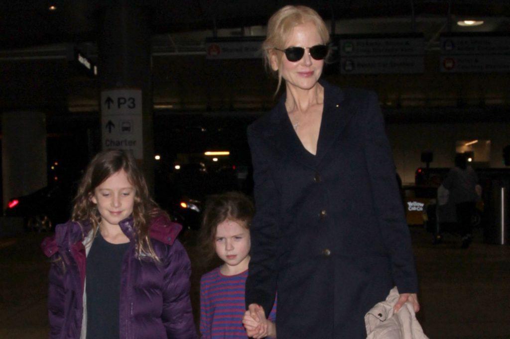 Nicole Kidman et ses filles