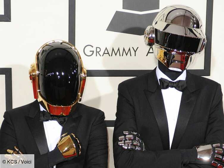 Le groupe Daft Punk