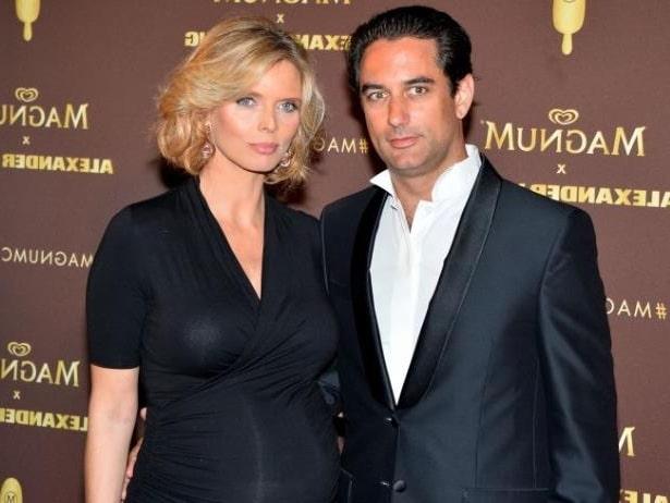Sylvie Tellier et son mari Laurent