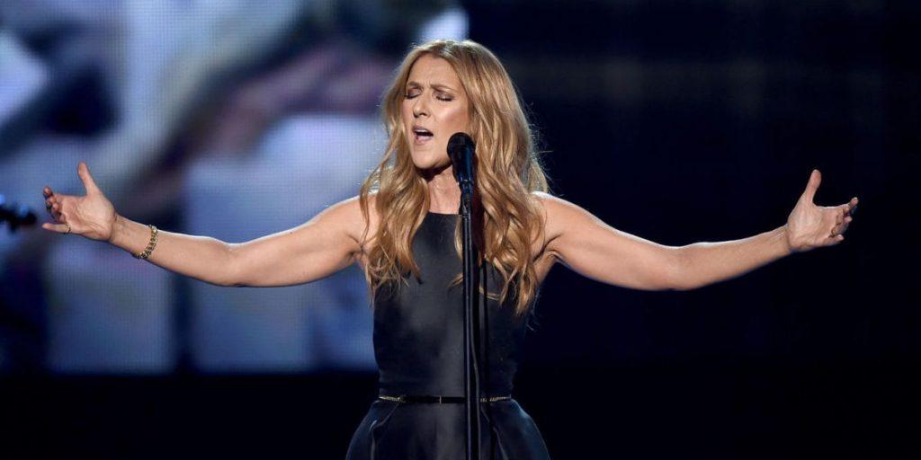 Ce n'est pas la première fois pour Céline Dion