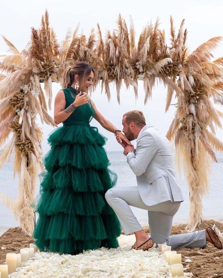 Demande en mariage à Hilona
