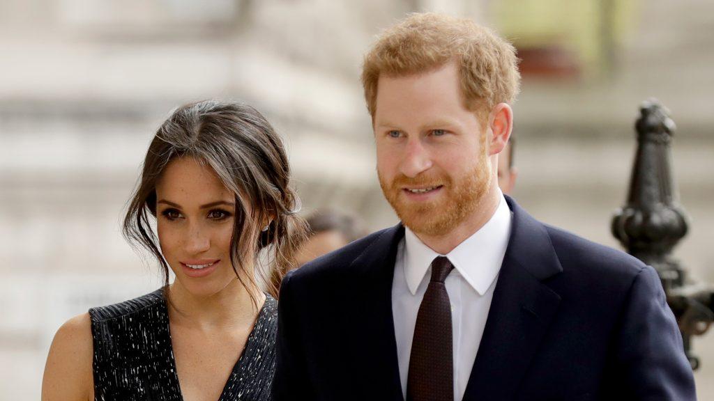 Meghan Markle et le prince Harry !