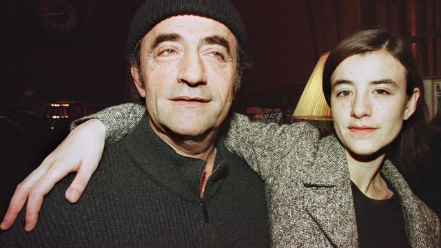 Romane Bohringer et son papa
