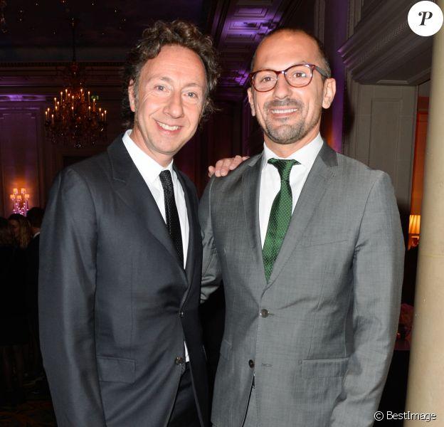Stéphane Bern et son ex Lionel