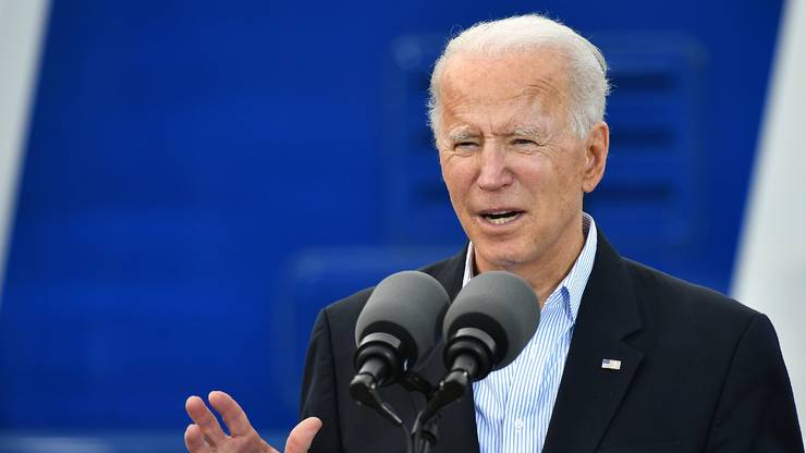 Grand moment de solitude pour Joe Biden