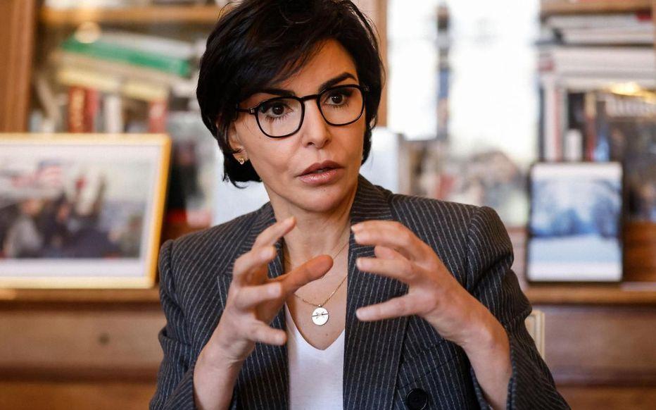 Rachida Dati. Elle prend la parole pour défendre Nicolas Sarkozy