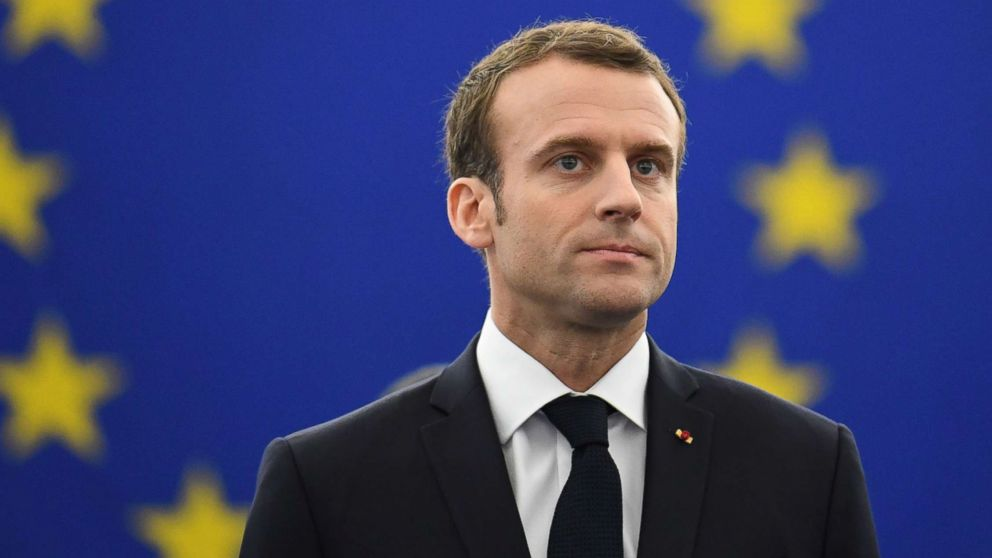 La réponse d' Emmanuel Macron