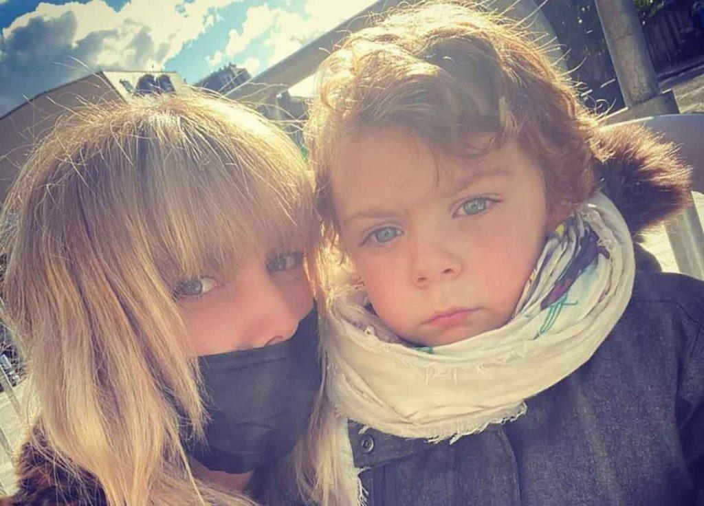 Laetitia et son fils Jack