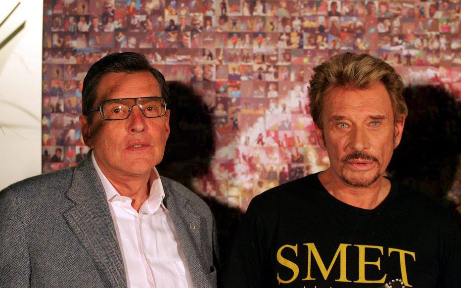Jean-Claude Camus et Johnny Hallyday