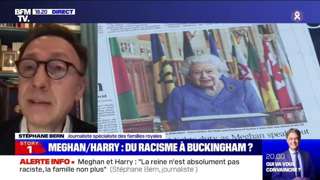 """Stéphane Bern : """"La reine n'est absolument pas raciste"""""""