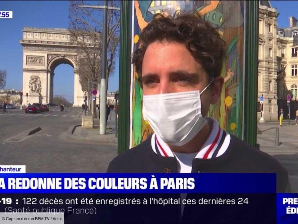 """""""j'ai voulu raviver les couleurs de Paris"""""""