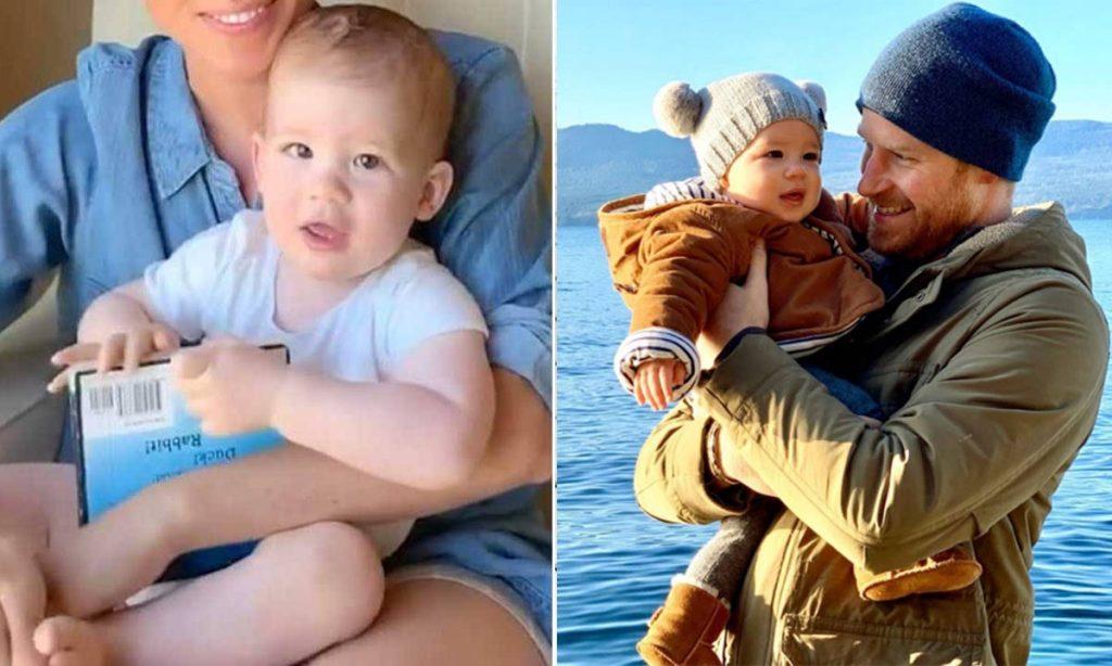 Prince Harry et son fils Archie