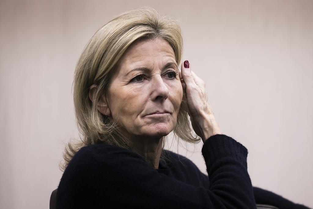Claire Chazal s'exprime sur les accusations visant Patrick Poivre d'Arvor