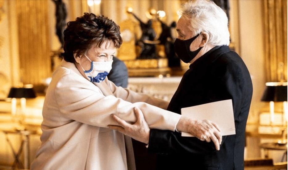 Michel Sardou cas contact de Roselyne Bachelot