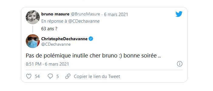 """Pas de polémique inutile cher Bruno"""